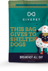 GIVEPET Breakfast All Day Dog Treats 12oz