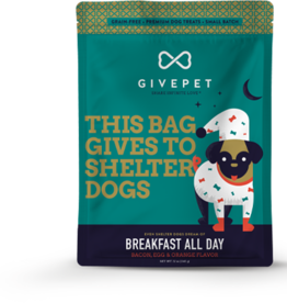 GivePet GIVEPET Breakfast All Day Dog Treats 12oz