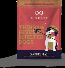 GivePet GIVEPET Campfire Feast Dog Treats 12oz