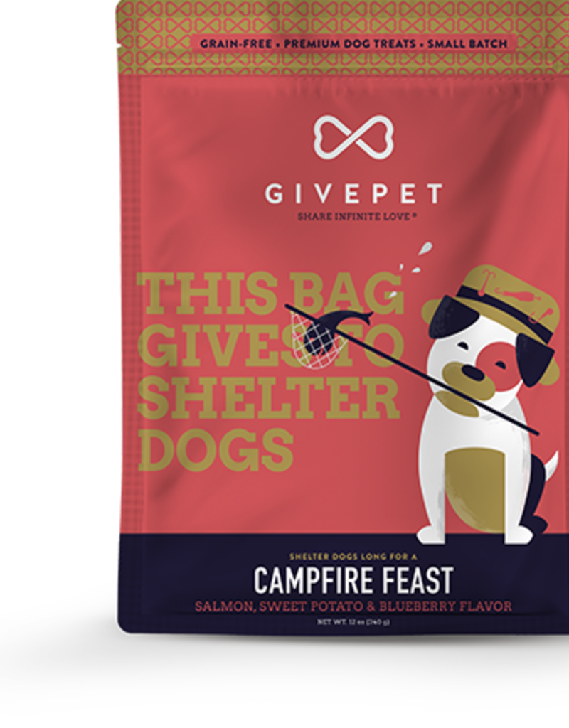 GivePet GIVEPET Campfire Feast Dog Treats 12oz