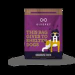 GivePet GIVEPET Doghouse Rock Dog Treats 12oz