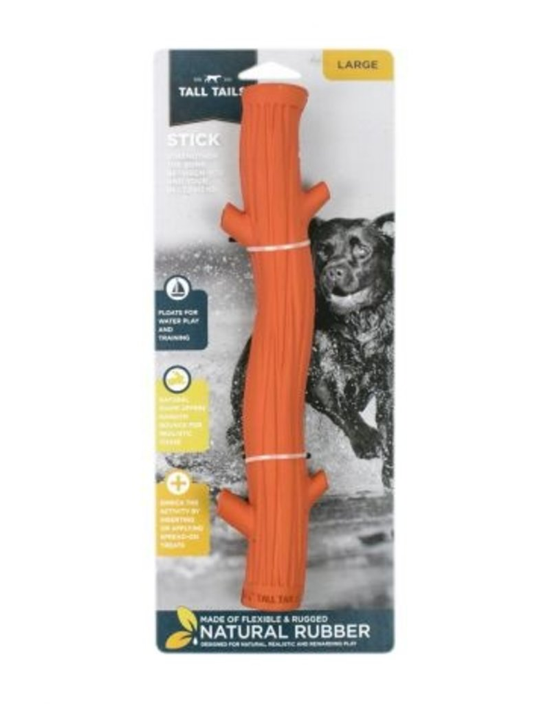 """Tall Tails TALL TAILS Floating Rubber Stick Dog Toy 12"""""""