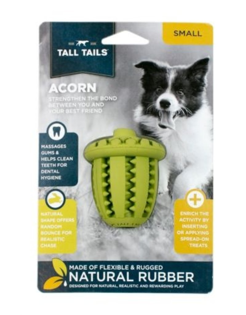 Tall Tails TALL TAILS Rubber Acorn Dog Toy Sm
