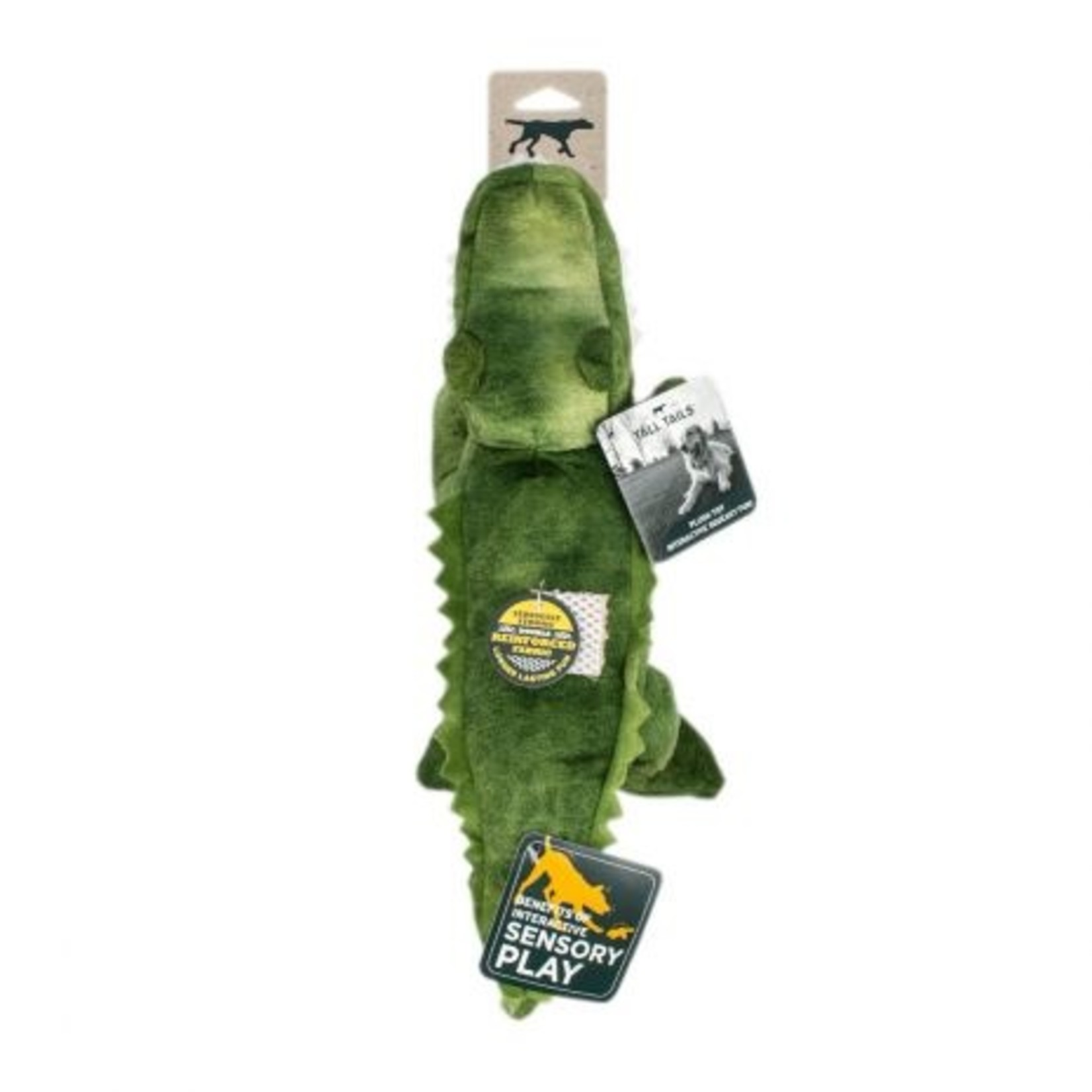 Tall Tails TALL TAILS Crunch Alligator Dog Toy
