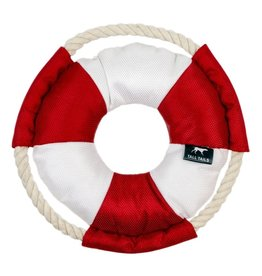 """Tall Tails TALL TAILS Life Buoy Squeaker 8"""" Dog Toy"""