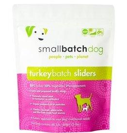Small Batch Small Batch  Frozen Raw TurkeyBatch Sliders Dog 3#