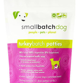 Small Batch Small Batch Frozen TurkeyBatch Patties Dog 6#
