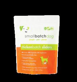 Small Batch Small Batch Frozen Raw ChickenBatch Sliders Dog 3#