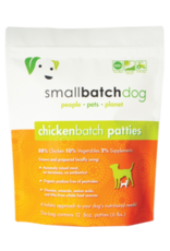 Small Batch Small Batch Frozen ChickenBatch Patties Dog 6#