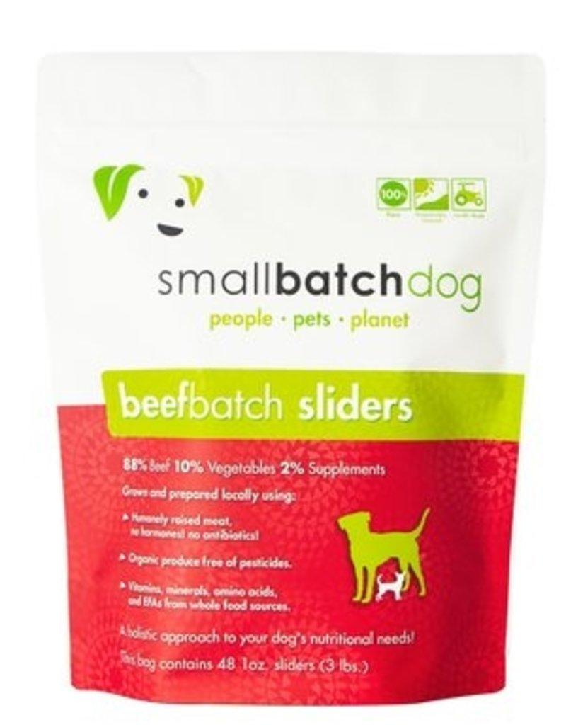Small Batch Small Batch Frozen BeefBatch Sliders Dog 3#