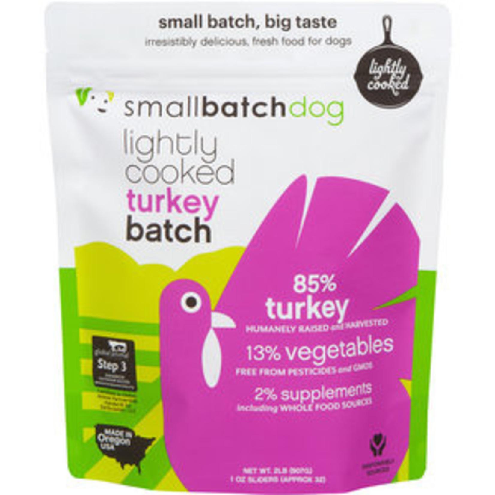Small Batch Small Batch Frozen Lightly Cooked TurkeyBatch Dog Food