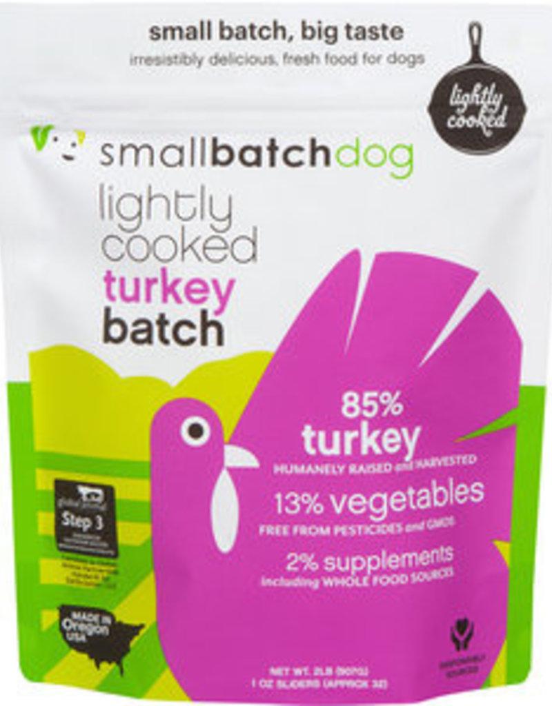Small Batch Small Batch Lightly Cooked TurkeyBatch Dog Food