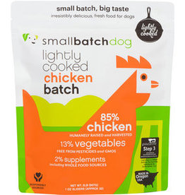 Small Batch Small Batch Frozen Lightly Cooked ChickenBatch Dog Food