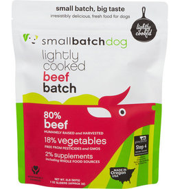 Small Batch Small Batch Lightly Cooked BeefBatch Dog Food