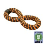 """Tall Tails TALL TAILS Braided Infinity Tug Orange 11"""" Dog Toy"""