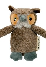 """Tall Tails TALL TAILS Plush Owl Dog Toy 5"""""""