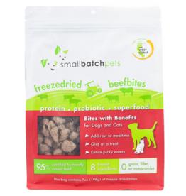 Small Batch Small Batch Freeze Dried Beef Bites Treat 7oz Dog