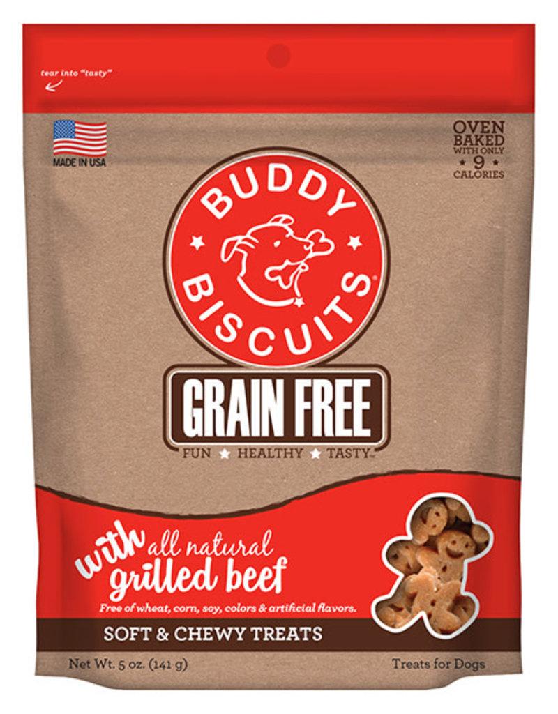 Cloud Star BB GF Soft & Chewy Beef Dog Treats 5oz