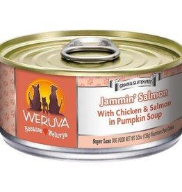 Weruva WERUVA Jammin' Salmon Dog Can 5.5oz