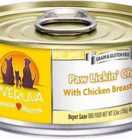 Weruva WERUVA Paw Lickin' Chicken Dog Can 5.5oz