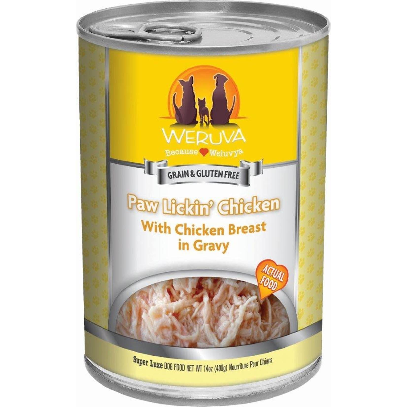 Weruva WERUVA Paw Lickin' Chicken Dog Can 14oz