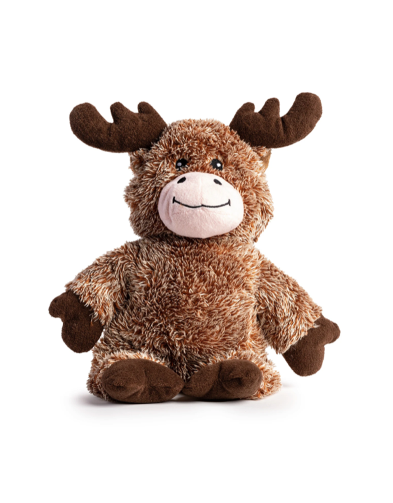 Fabdog Fabdog Fluffie Moose Dog Toy Lrg