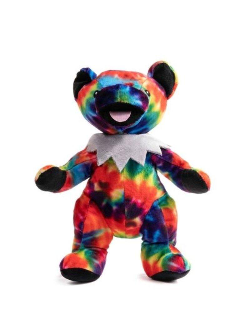 Fabdog Fabdog Grateful Dead Tie Dye Bear Dog Toy Sm