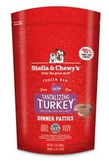 Stella & Chewys Stella & Chewy's  Frozen Raw Turkey Patties Dog
