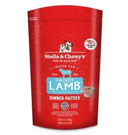 Stella & Chewys Stella & Chewy's Frozen Raw Lamb Patties Dog
