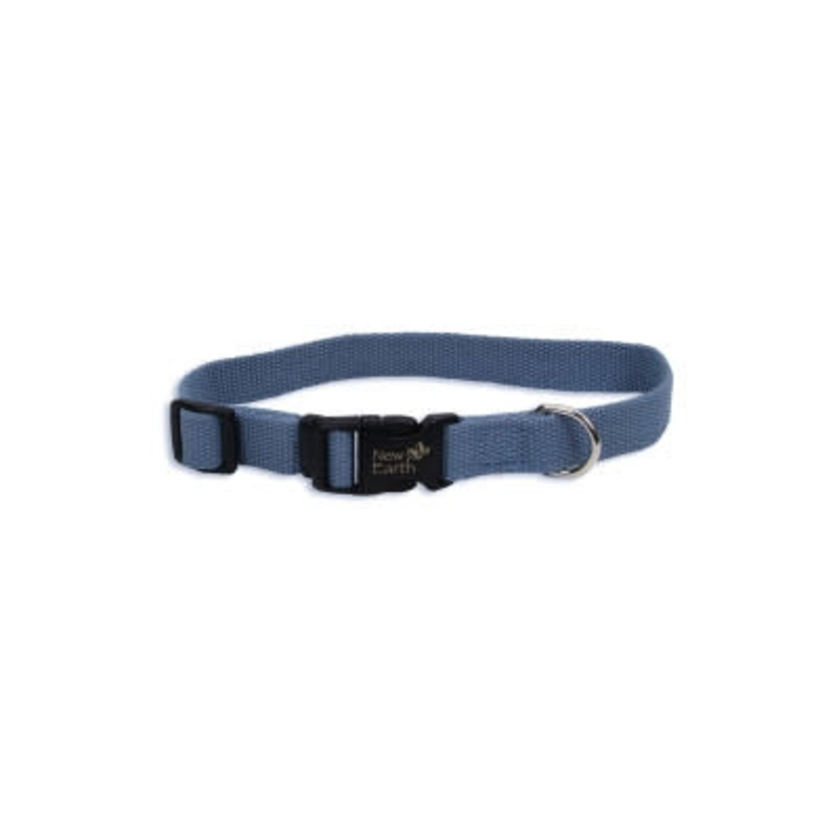 Coastal Pet Products NEW EARTH Soy Collar Slate Blue Dog