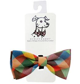 Huxley & Kent H&K Fall Check Bow Tie Dog