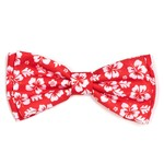 Worthy Dog The Worthy Dog Bow Tie Aloha Red