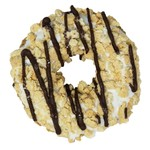 K9 Granola Factory K9GF Gourmet Granola Donut Vanilla Fudge Stripe Dog Treat