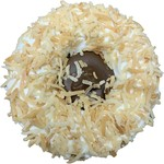 K9 Granola Factory K9 Granola Factory Gourmet Granola Donut Carob Cream Filled w/ Toasted Coconut Dog Treat