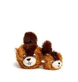Fabdog Fabdog Faball Beaver Dog Toy Med