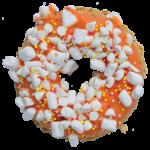 K9 Granola Factory K9 Granola Factory Gourmet Granola Donut Orange Dreamsicle Dog Treat