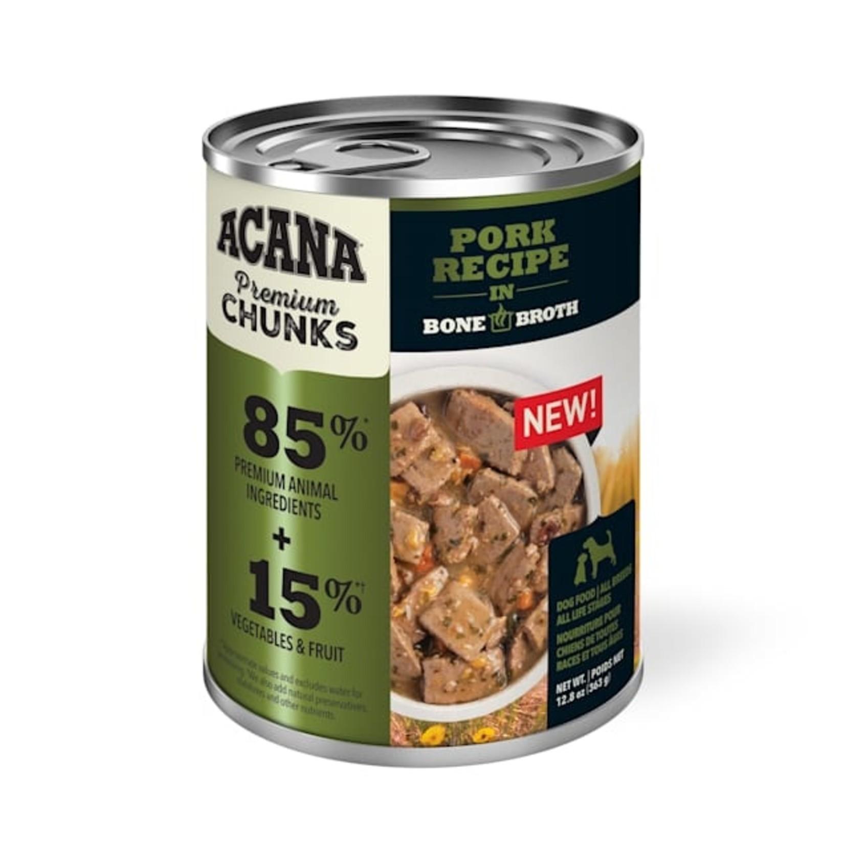 Acana Acana Pork Recipe Dog Can 12.8 oz