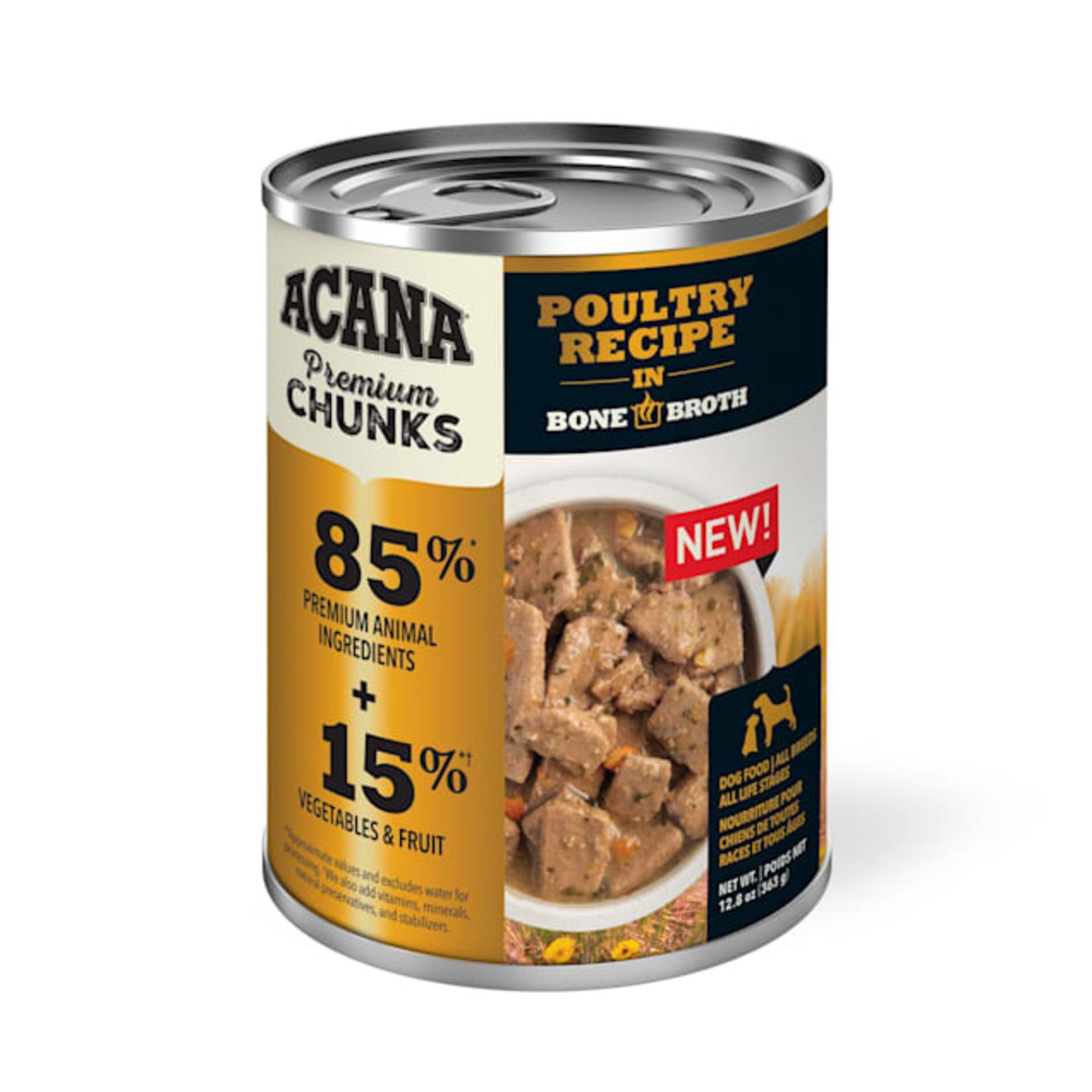Acana Acana Poultry Recipe Dog Can 12.8 oz