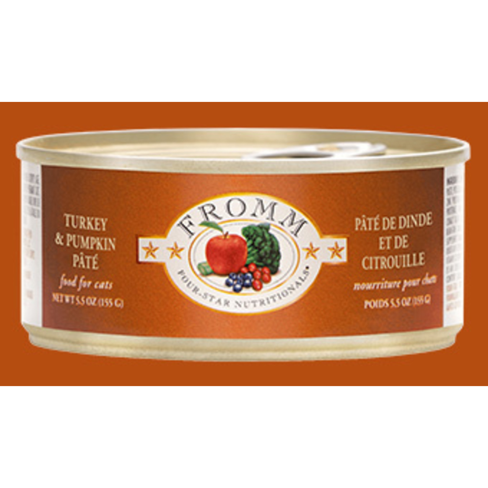 Fromm Family Fromm Turkey & Pumpkin Pate Canned Cat Food 5.5oz