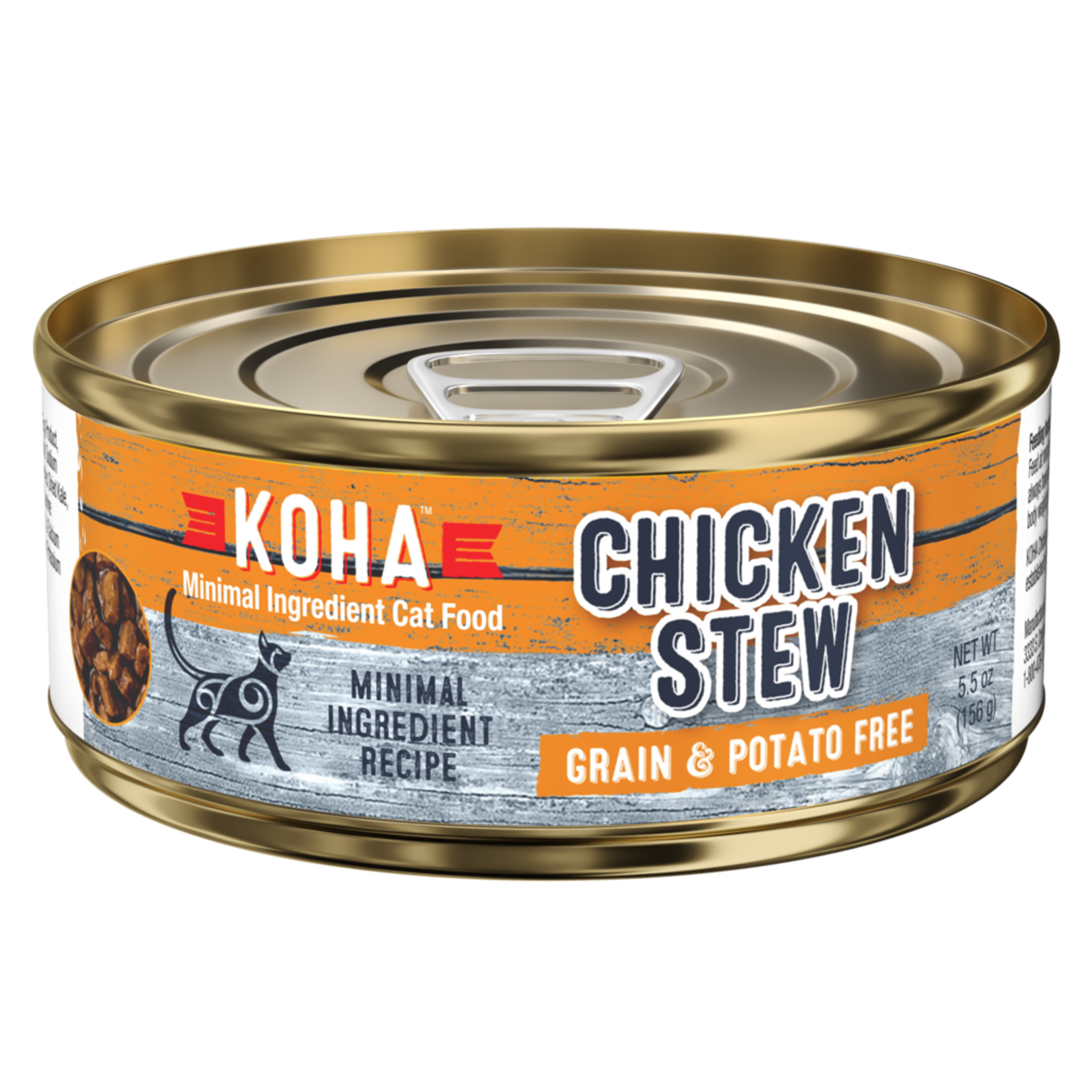 Koha KOHA Chicken Stew Cat Can 5.5oz