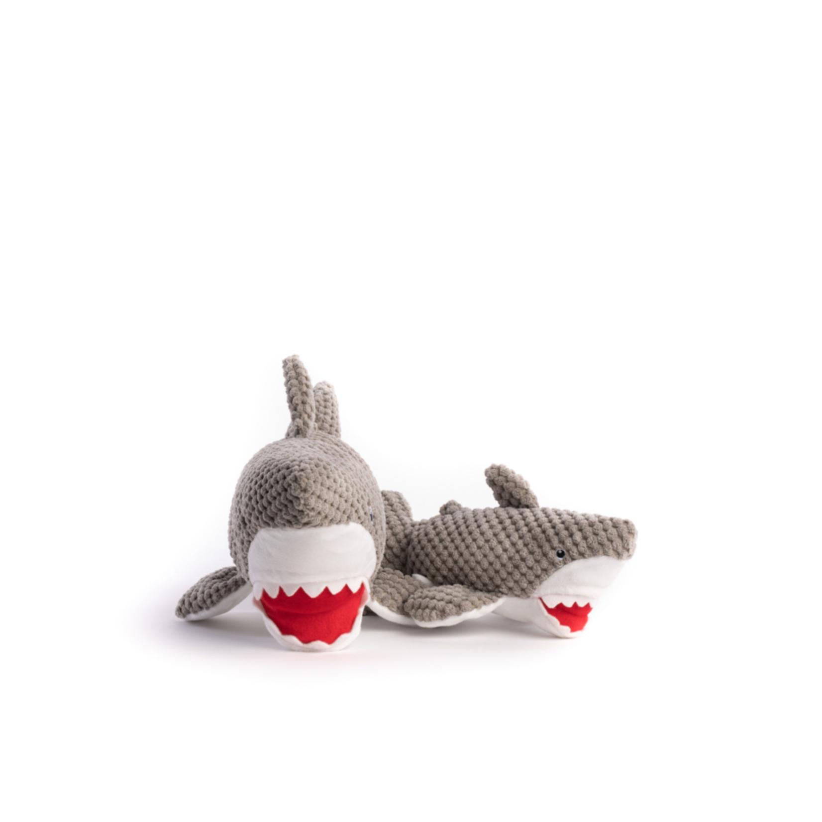 Fabdog Fabdog Floppy Shark Dog Toy Sm