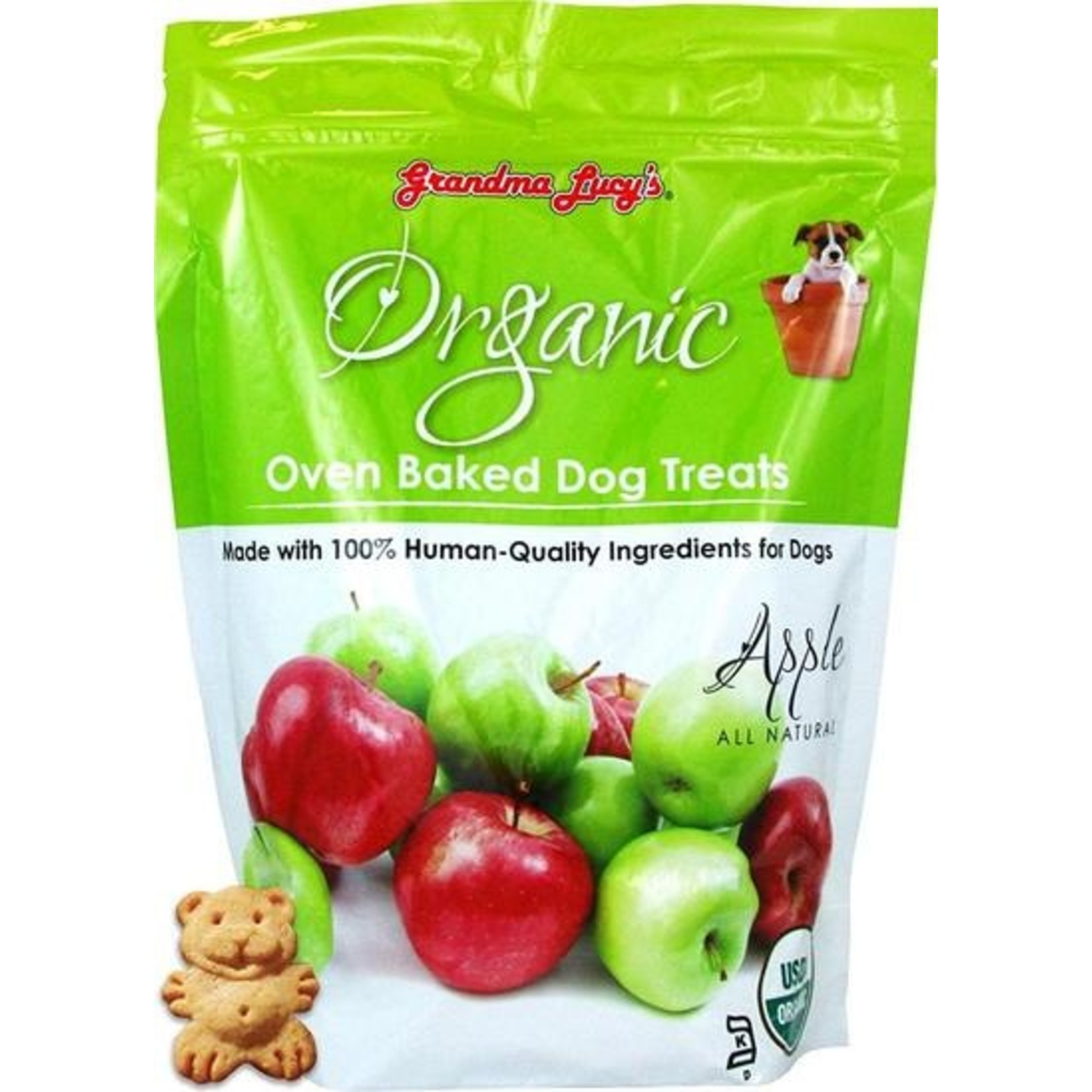 Grandma Lucy's Grandma Lucy's Organic Apple Dog Treats 14oz