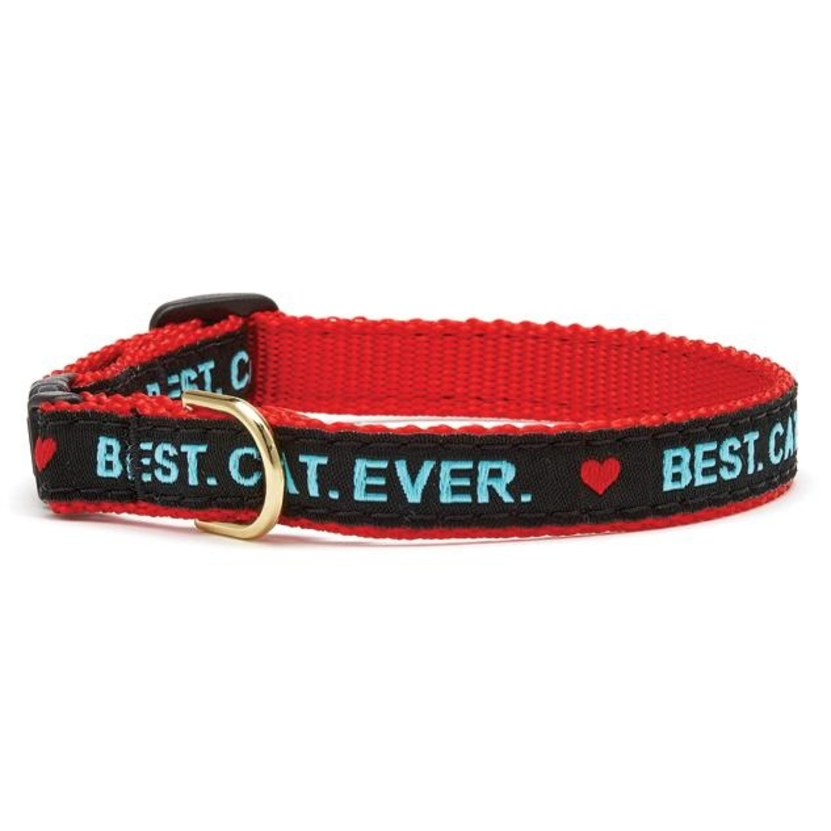 """Up Country Up Country Best Cat Ever Collar Cat 12"""""""