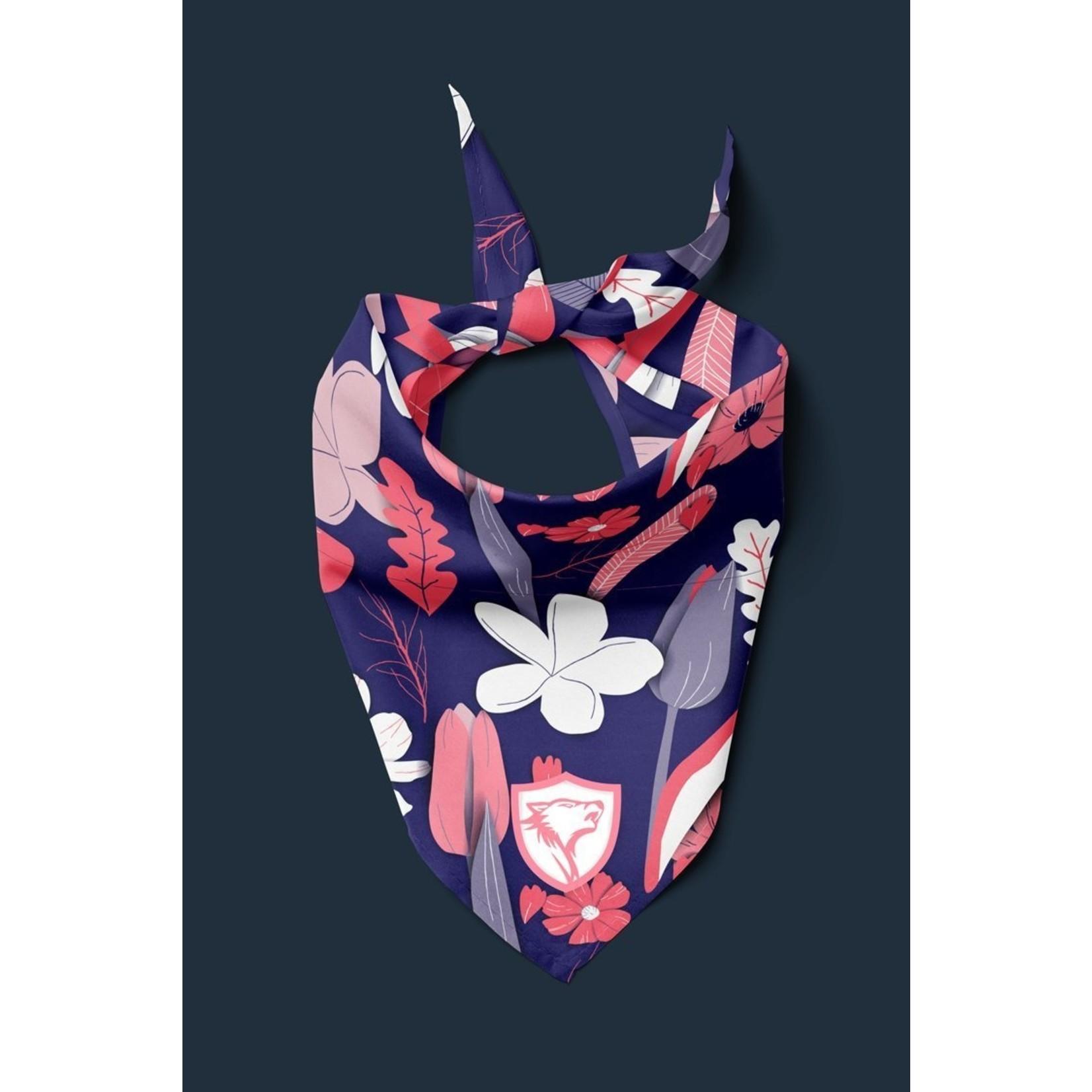 Rocky Pet ROCKY PET Pink & Purple Floral Bandana