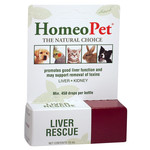 Homeopet Solutions HomeoPet Liver Rescue 15ml