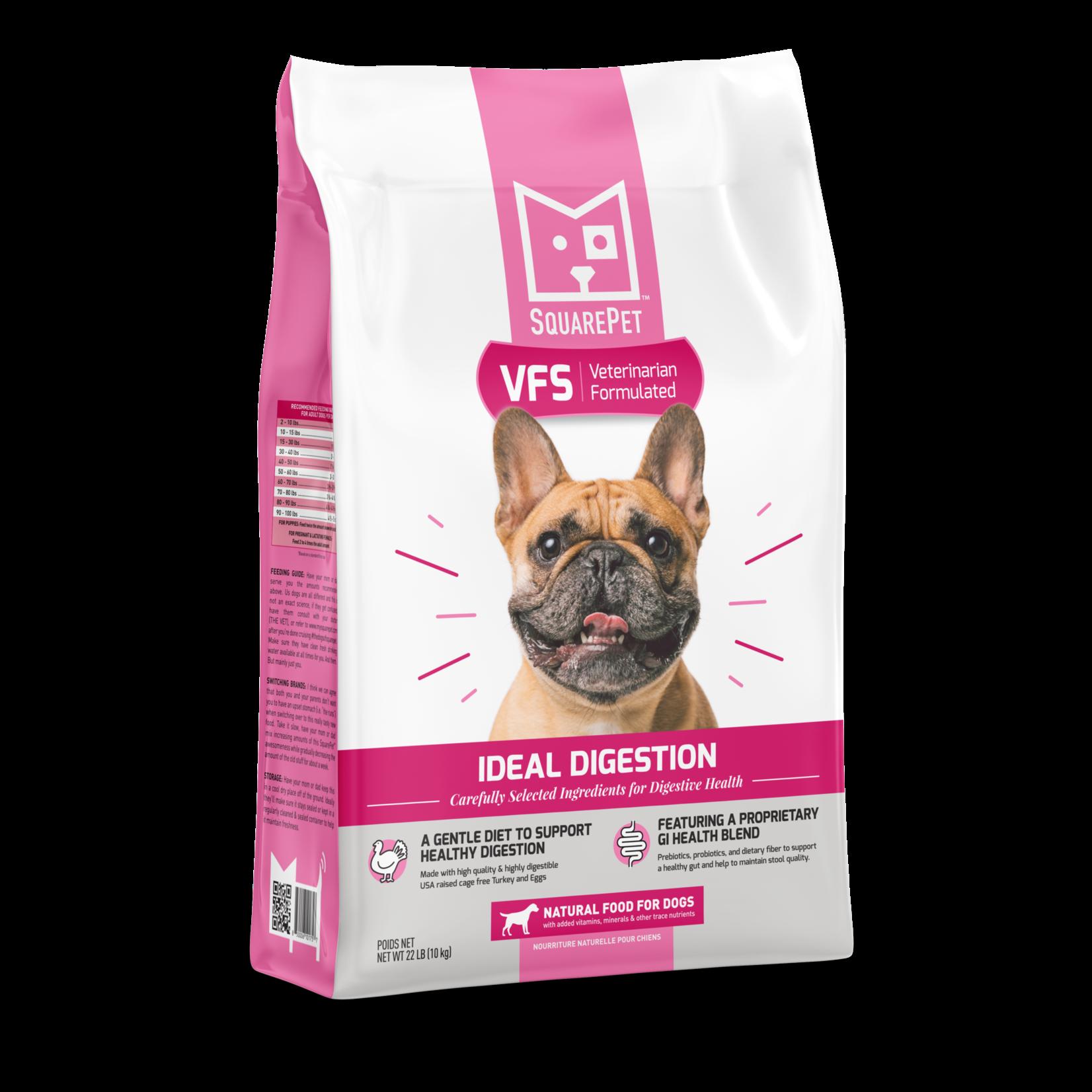 SquarePet SquarePet VFS Ideal Digestion Dog Food