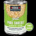 Koha KOHA Pure Shreds Chicken & Duck Dog Can 12.5oz