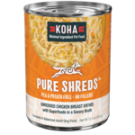 Koha KOHA Pure Shreds Chicken & Pumpkin Dog Can 12.5oz