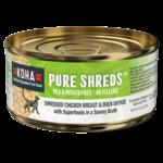 Koha KOHA Pure Shreds Chicken & Duck Cat Can 2.8 oz
