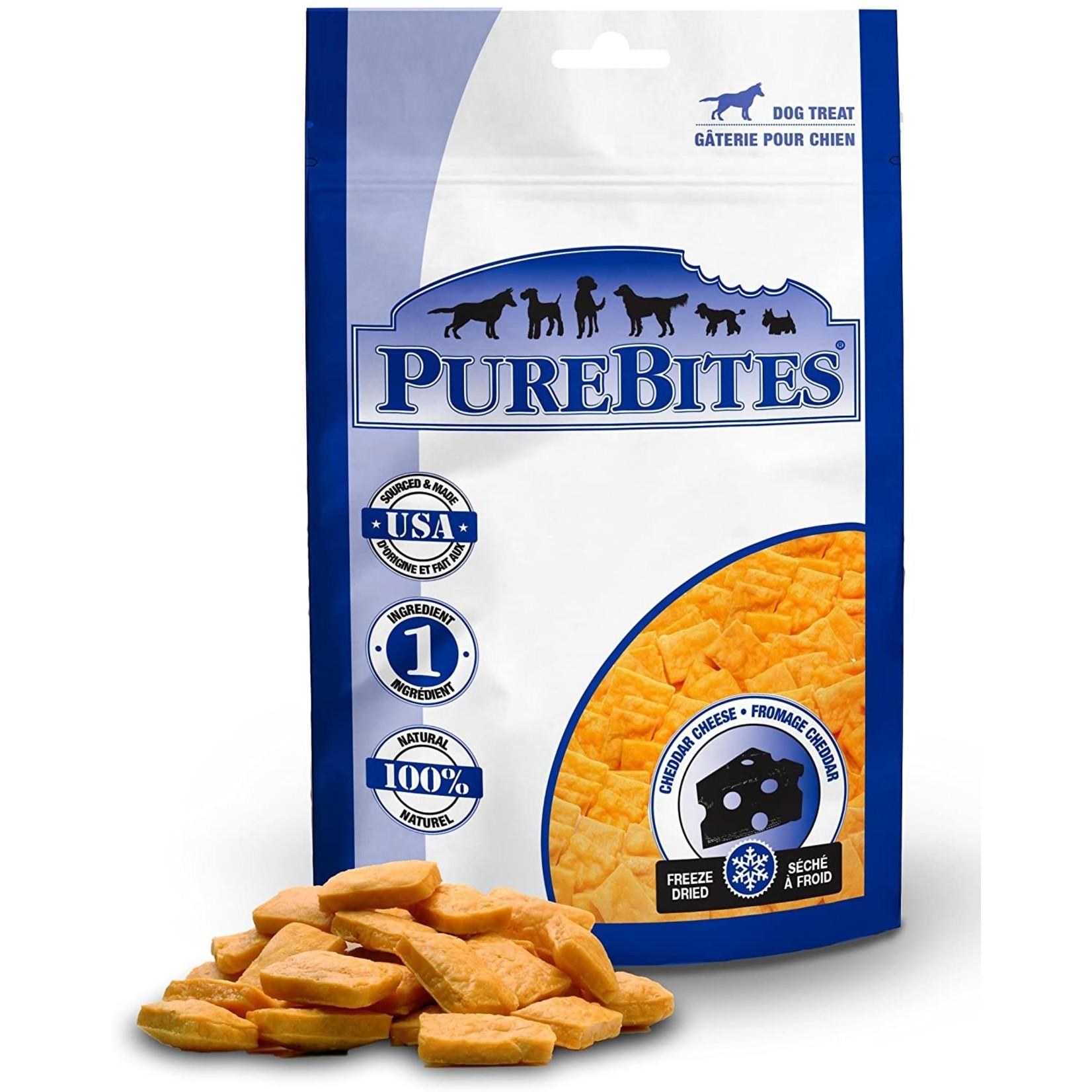 PureBites Purebites Cheddar Cheese Freeze Dried  Dog Treat 4.2oz